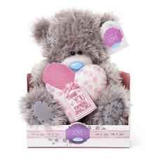 "9"" Thank You Padded Heart Me to You Bear"