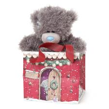 "5"" Me to You Bear in Christmas Gift Bag"