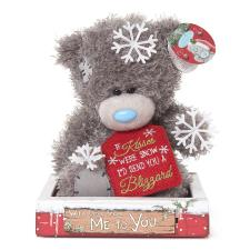 "7"" Snowflakes Me to You Bear"