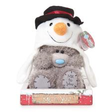 "7"" Wearing Snowman Hat Me to You Bear"