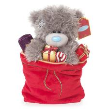 "9"" In Sack of Presents Me to You Bear"