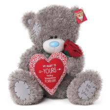 "20"" My Heart is Yours Padded Heart Me to You Bear"