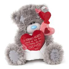 "12"" Hundred Hearts Love Verse Me to You Bear"