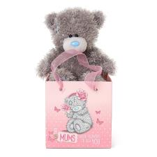 "5"" Mum Me to You Bear In Bag"