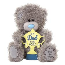 "7"" Best Dad In The World Me to You Bear"