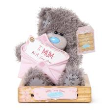 "7"" Mum With Love Holding Envelope Me to You Bear"
