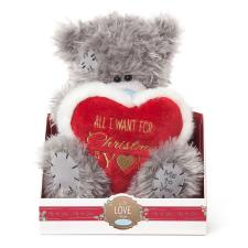 "9"" All I Want For Christmas Heart Me To You Bear"