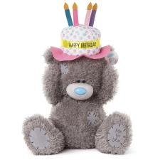 "20"" Birthday Cake Hat Me to You Bear"