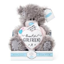 "9"" Padded Heart Beautiful Girlfriend Me to You Bear"