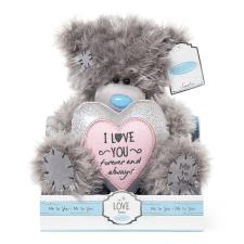 "9"" Padded Heart I love You Me to You Bear"