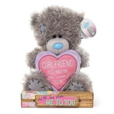 "7"" Padded Heart Girlfriend Me to You Bear"