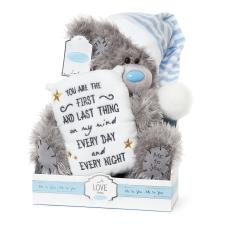 "9"" First & Last Thing On My Mind Pillow Me to You Bear"