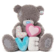 "28"" Love Letters Me to You Bear"