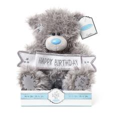 "9"" Happy Birthday Banner Me to You Bear"