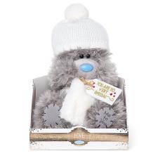 "9"" Winter Hat And Scarf Me To You Bear"