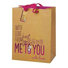 Extra Large Me to You Bear Shopper Gift Bag