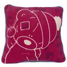 Sketchbook Me to You Bear Square Cushion
