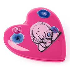Me to You Bear Sketchbook Heart Shaped Hairbrush