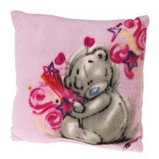 Pink Sketchbook Me to You Bear Cushion
