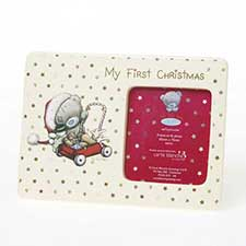 My 1st Christmas Tiny Tatty Teddy Me to You Photo Frame