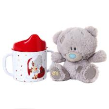 "4"" Tiny Tatty Teddy Bear & Beaker Gift Set"