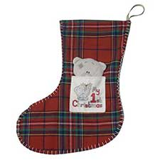 Tiny Tatty Teddy My 1st Christmas Me to You Bear Stocking