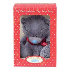 "8"" Boxed My 1st Christmas Me to You Bear"
