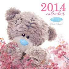 2014 Me to You Bear Photo Finish Square Calendar
