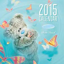 2015 Me to You Bear Photo Finish Square Calendar