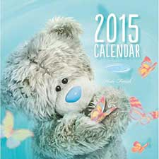 2015 Me to You Bear Photo Finish Mini Square Calendar