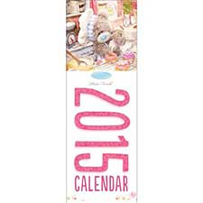 2015 3D Me to You Bear Photo Finish Slim Calendar
