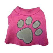 Tatty Puppy Me to You Bear Pink Paw Print T-shirt