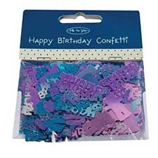Happy Birthday Me to You Bear Confetti