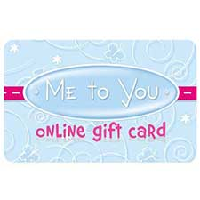 Me to You Online £50 Gift Card
