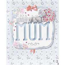 Mum Me to You Bear Luxury Mothers Day Card