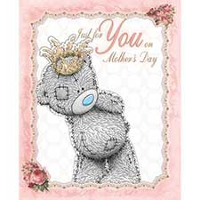Just For You Me to You Bear Luxury Mothers Day Card