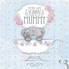 Yummy Mummy Me to You Bear Mothers Day Card