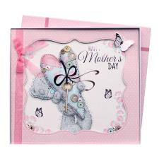 Happy Mothers Day Me to You Bear Handmade Boxed Mothers Day Card