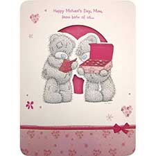 Mum from Both of Us Mothers Day Me to You Bear Card