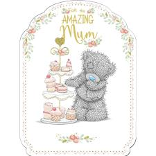 Amazing Mum Large Me to You Bear Mothers Day Card