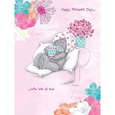 Happy Mothers Day With Love Me to You Bear Card