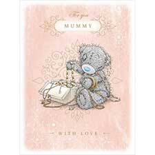 Mummy Large Me to You Bear Mothers Day Card