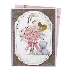 Mum Me to You Bear Handmade Boxed Mothers Day Card