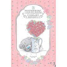 Mum On Mothering Sunday Me to You Bear Mothers Day Card