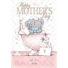 Bubble Bath Me to You Bear Mothers Day Card