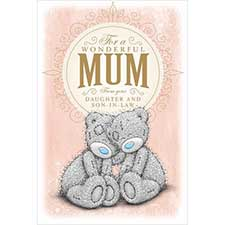 From Daughter & Son-In-Law Me to You Bear Mothers Day Card