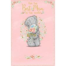 Best Mum In The World Me to You Bear Mothers Day Card