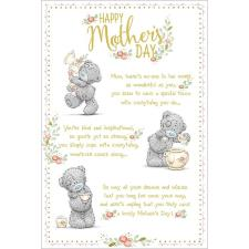 Tatty Teddy Poem Me to You Bear Mothers Day Card