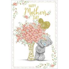 Tatty Teddy With Bouquet Me to You Bear Mothers Day Card