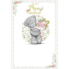 Mum Bear With Chocolates Me to You Bear Mothers Day Card